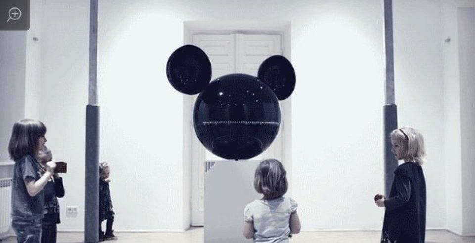 みんなのスター、ミッキーマウスが巨大なAV機器になりました