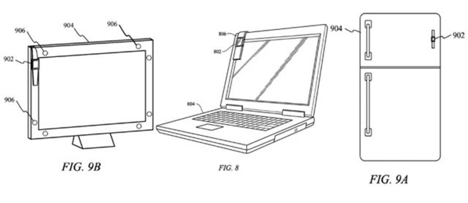 冷蔵庫にApple Watchぺたー。バンド部分を磁石にした特許をアップルが申請中