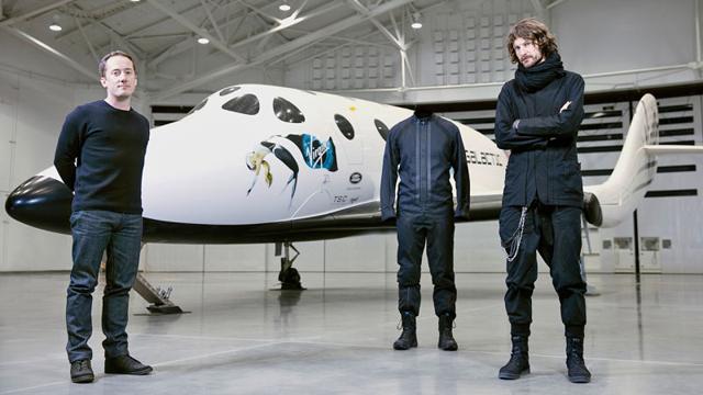 ヴァージン・ギャラクティックの飛行服をY-3がデザイン