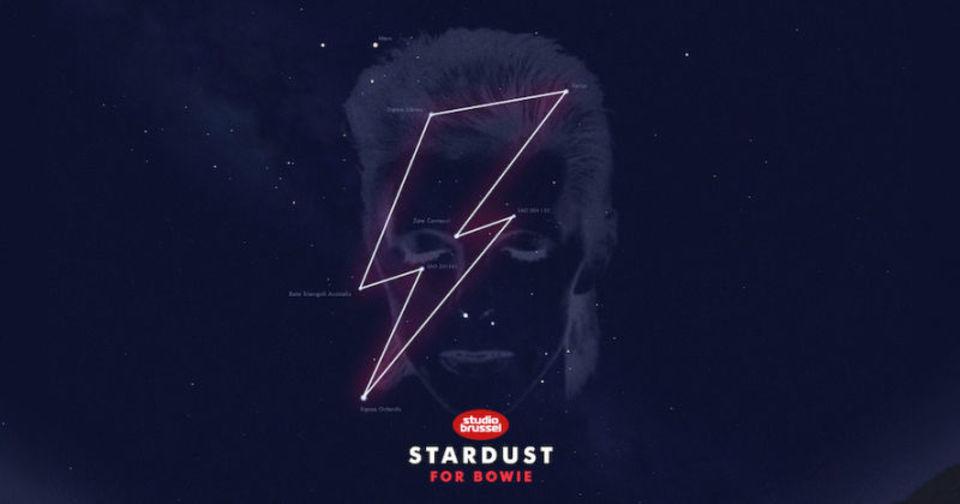 デヴィッド・ボウイの星座が誕生