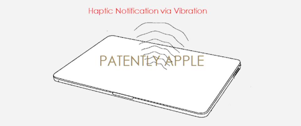 次期MacBookには振動による通知がくるかも