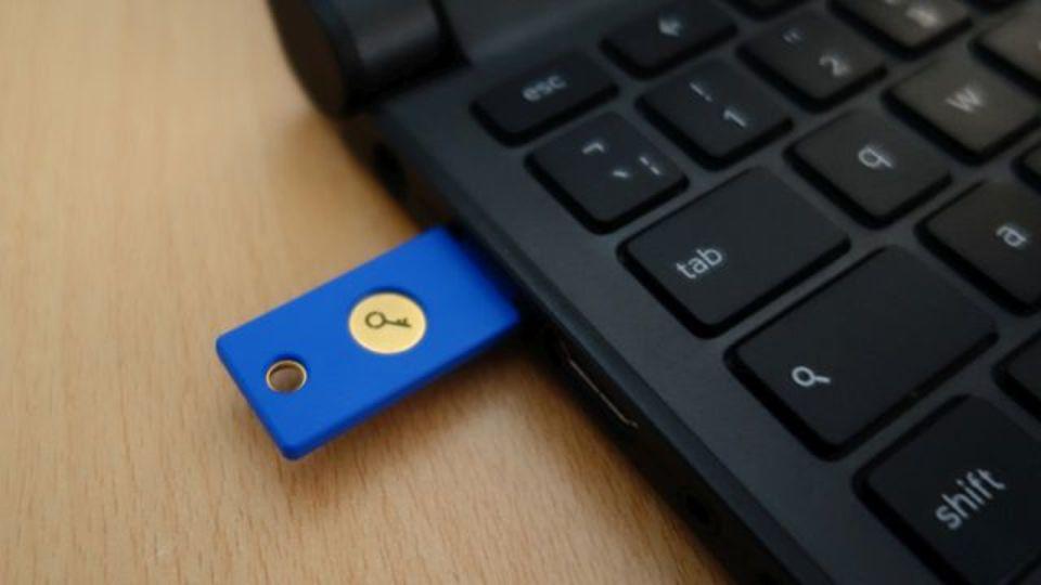 USBをGmailの2段階認証に使う方法