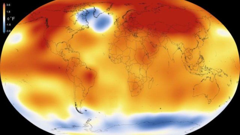 2015年は記録上もっとも暑い年だった