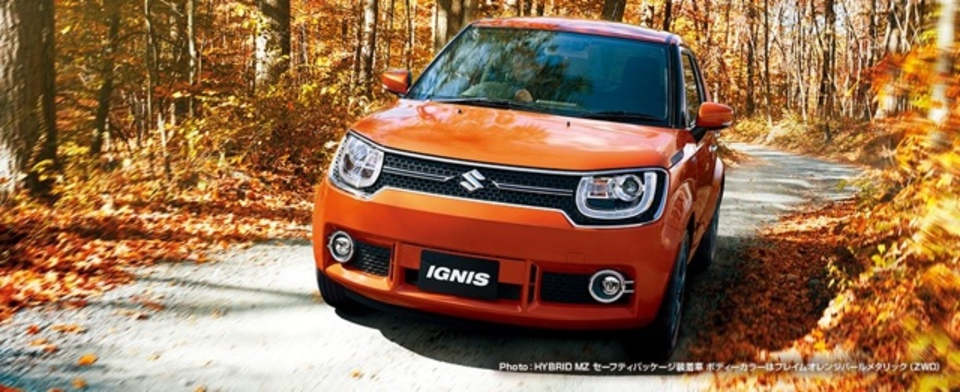 スズキの新型「IGNIS」、Apple CarPlay対応で誕生