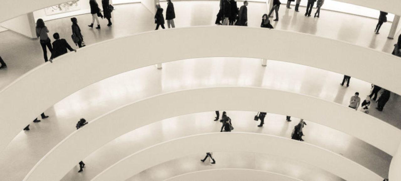 Googleストリートビューでニューヨークのグッゲンハイム美術館の中へ入れます