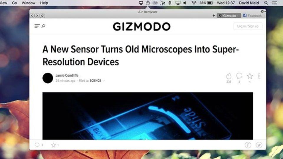 ブラウザ上のタブ大混雑を少しだけ軽減。お気に入りはMacのメニューバーに直接置いてしまいましょ
