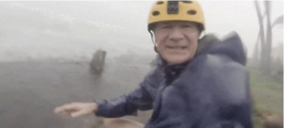 史上最大最強といわれた台風、「ハイヤン」の中を捉えた動画