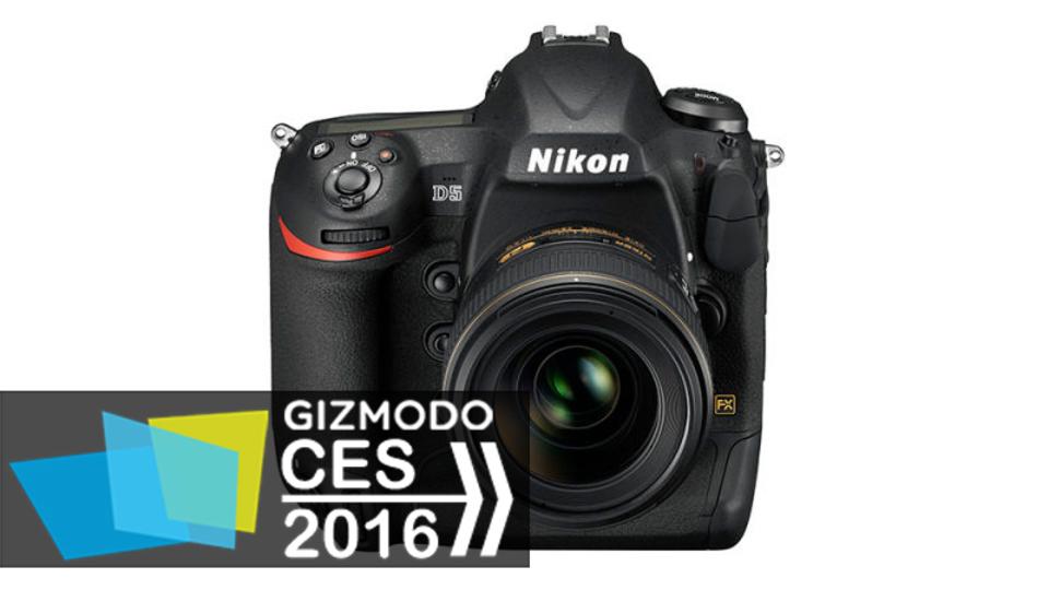 ニコンから最上位モデル「D5」登場、4K動画にISO最大328万まで対応