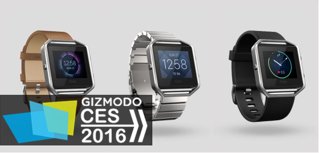 Fitbit新モデル、おしゃれなスマートウォッチ型「Blaze」を発表