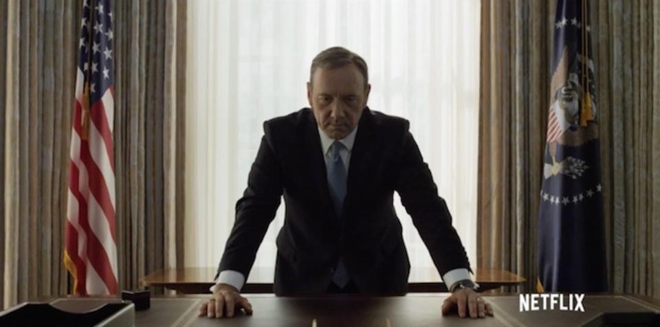 米大統領選イヤーに突入。「ハウス・オブ・カード 野望の階段」シーズン4の予告編が公開されたよ