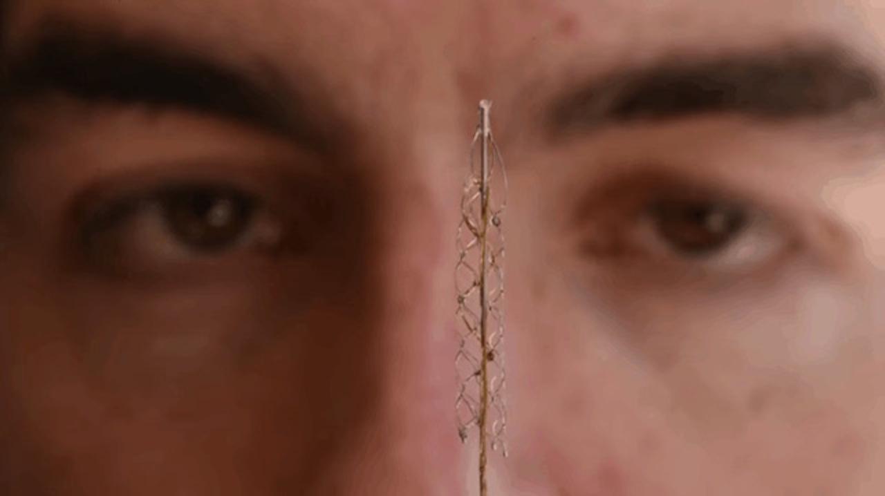 開頭手術は必要なし! 血管経由で脳に電極を埋めこむ技術を開発中