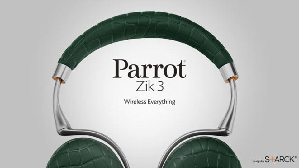 NC×Bluetoothの鉄板ヘッドフォン「Parrot Zik 3」日本デビュー