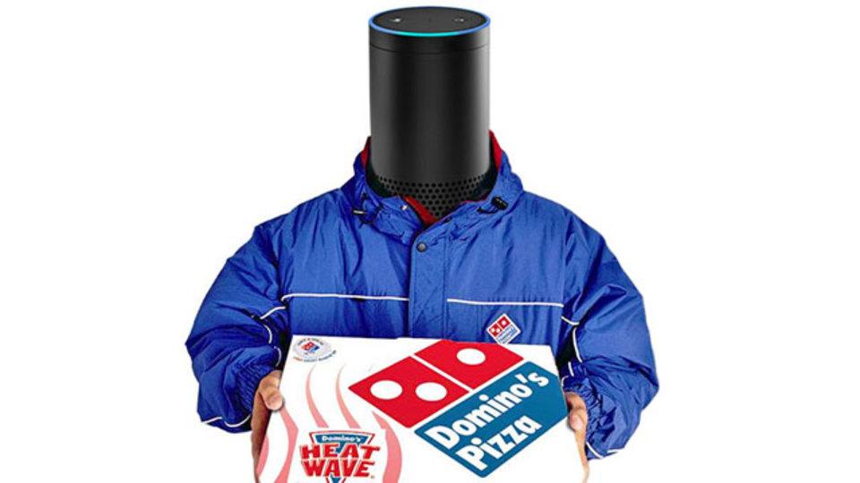 テック企業はピザが好き。アマゾン人工知能Alexaさん、ピザを注文できるように