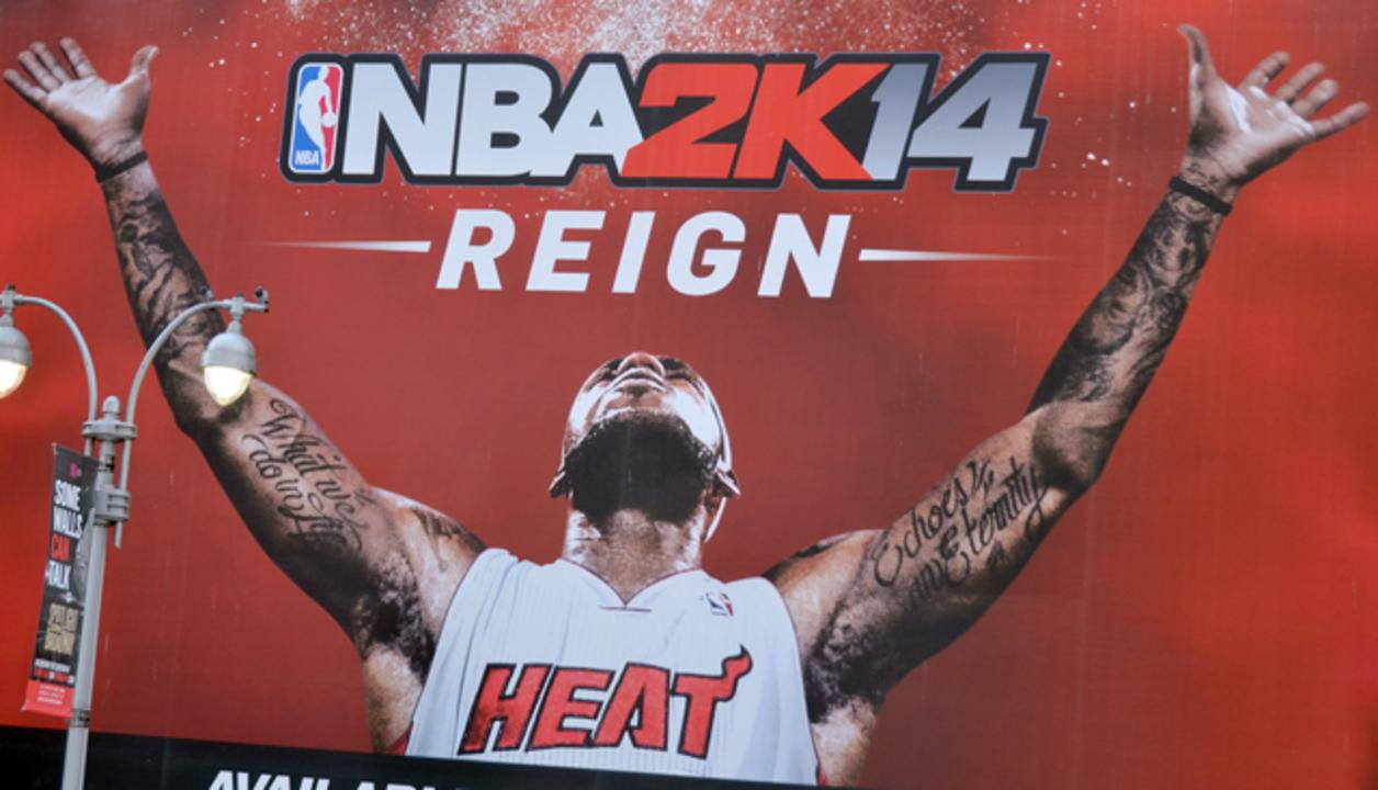 著作権侵害だ! NBAゲームに登場する選手のタトゥーで裁判沙汰