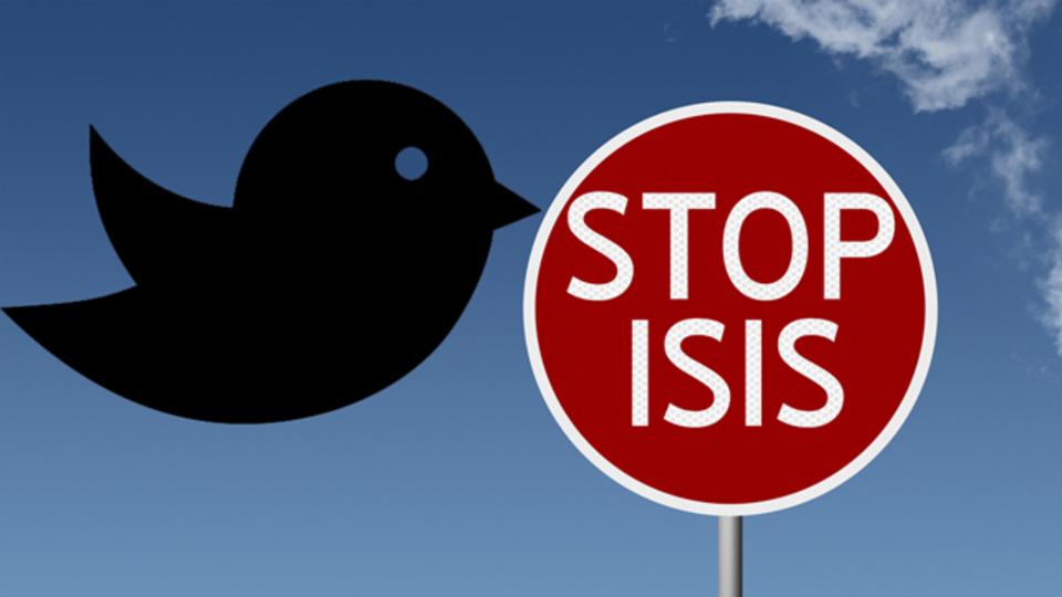 ツイッターが停止したISISアカウント、12万5000件