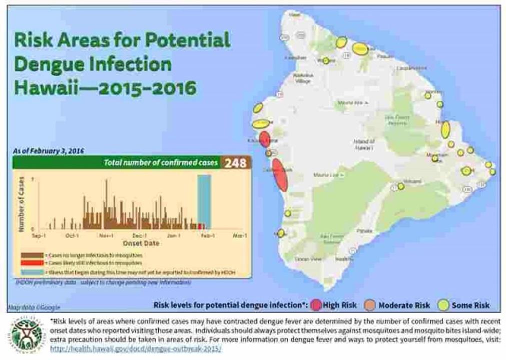 ハワイでデング熱が大流行中…ついに非常事態宣言を発令