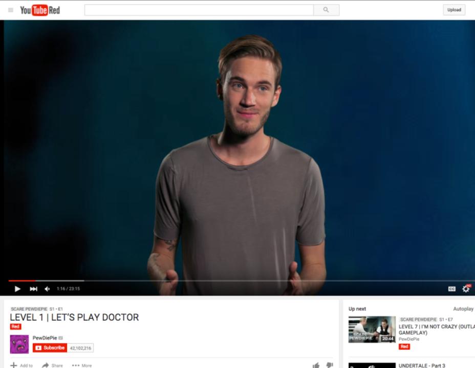 YouTube、有料コンテンツの再生回数は秘密にしたいらしい