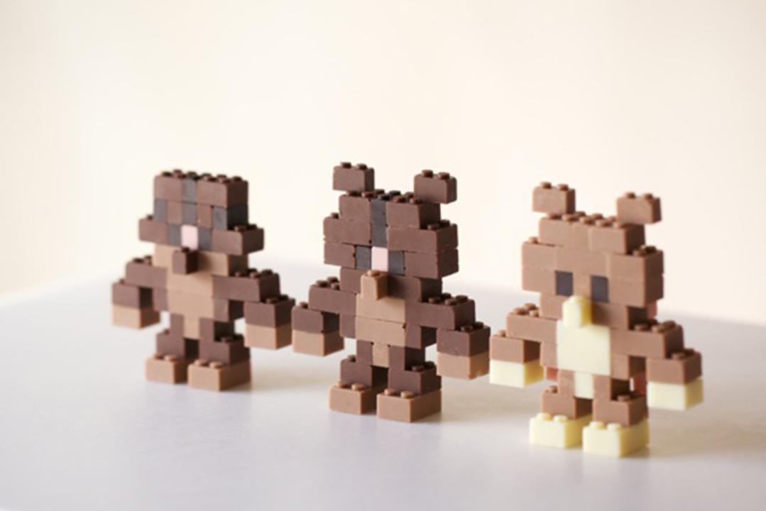チョコレートでできたレゴが話題に