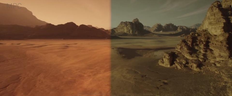 映画「オデッセイ」メイキング。乾いた大地はこうして作られた