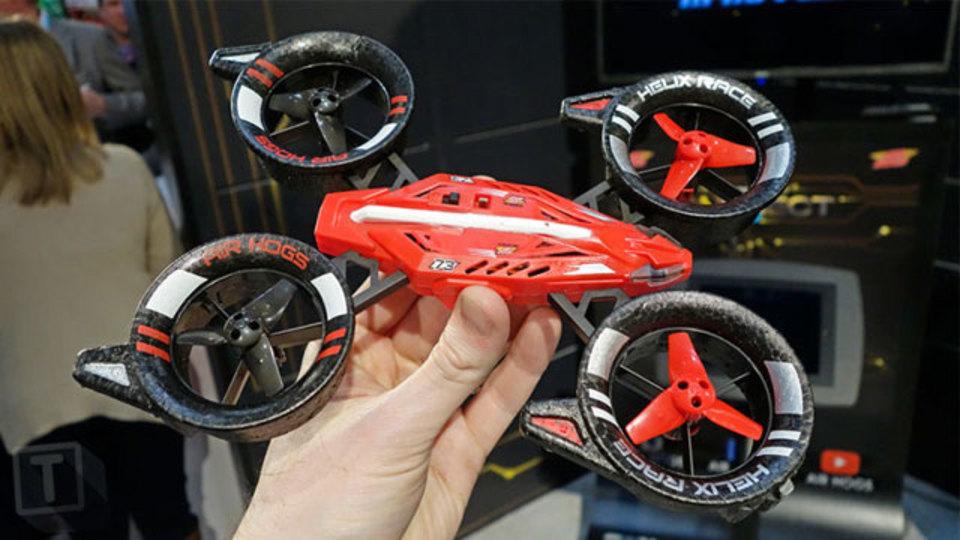 賞金1億円への第1歩。Air Hogsの低価格ドローンでレースに参加しやすくなる