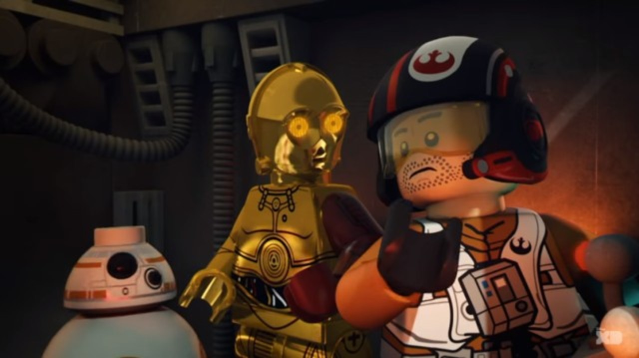 「スター・ウォーズ/フォースの覚醒」前夜を描く公式レゴアニメ第1話が楽しい