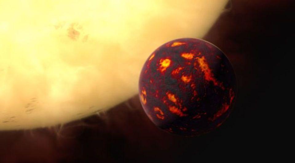 スーパーアースの大気、初めて分析される