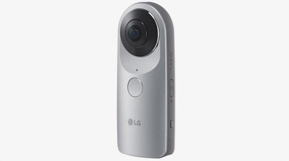 グルグル撮れる360度カメラにLGも参戦!