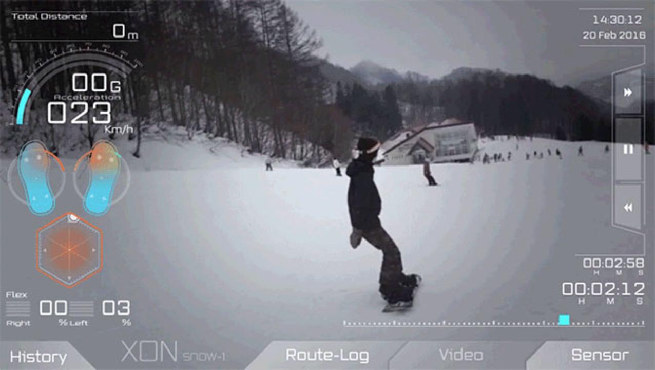Cerevoのスノーボーダー専用IoTバインディング「SNOW-1」体験レポ