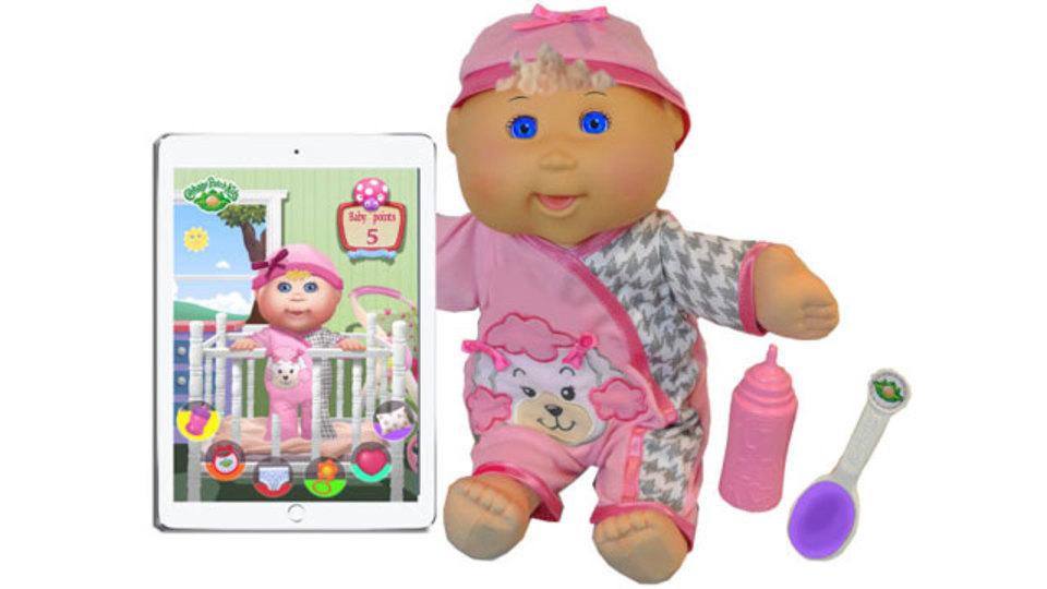 オモチャの赤ちゃん人形、目にLCD埋め込んで(良いか悪いか)表情が豊かに