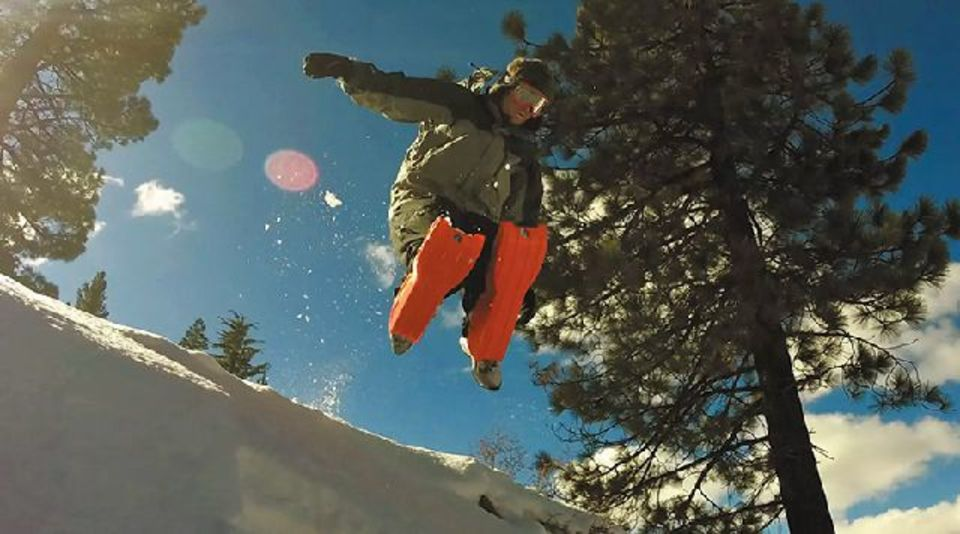 ヒザで滑る「Sled Legs」雪国ならデイリーユースにも!?