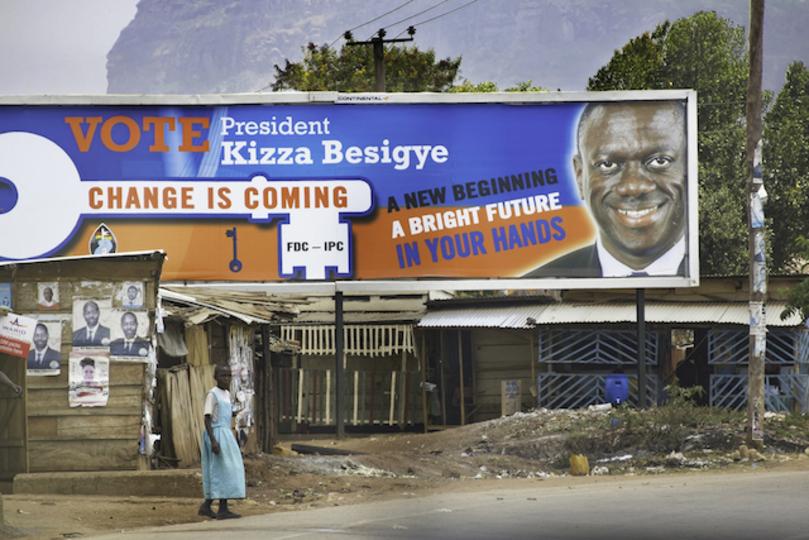 ウガンダ政府、選挙日にソーシャルメディアをブロック