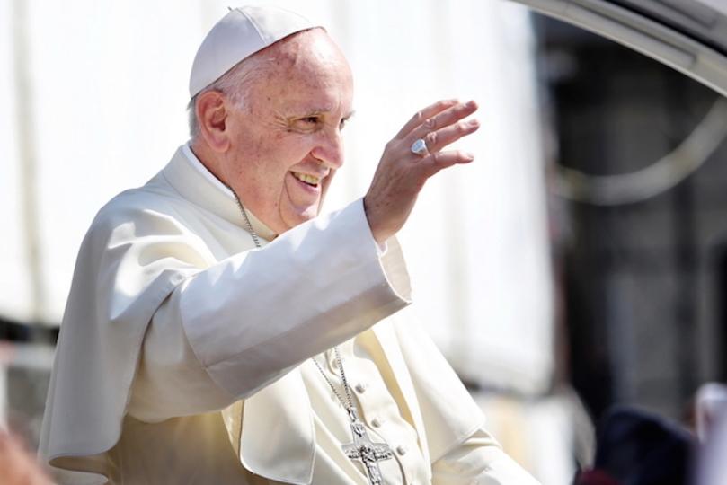 ローマ法王、Instagramの社長と会う
