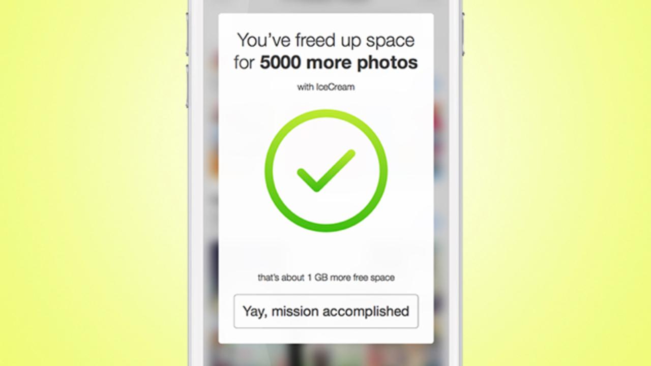 容量が足りなくて写真を削除する日々にサヨナラ。写真保管に特化したアプリIcecream