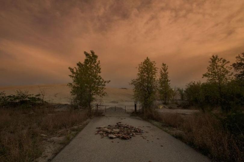 米国一毒性の高い村の黙示録的写真
