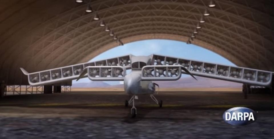 オスプレイの後継機か。電動、垂直離着陸、さらに後進も可能な新型飛行機のコンセプト