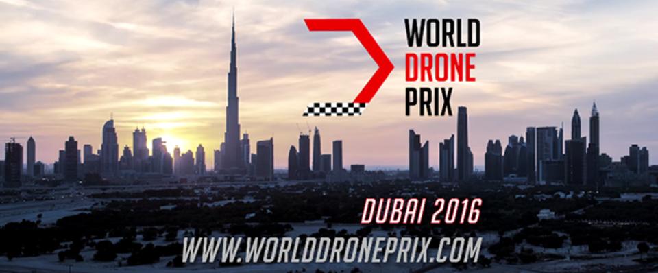 ドローンの公式世界レース「World Drone Prix」ドバイで11日から開催