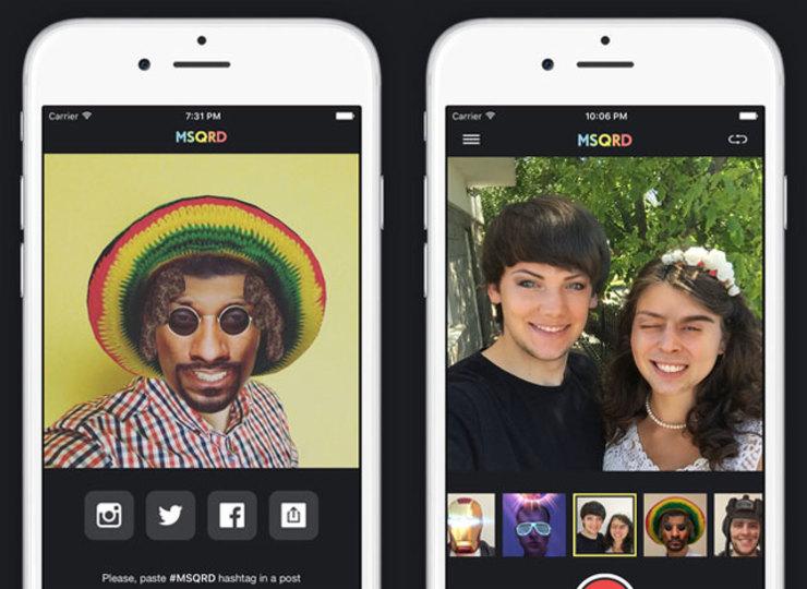 フェイスブックが顔認識おもしろアプリのMSQRDを買収