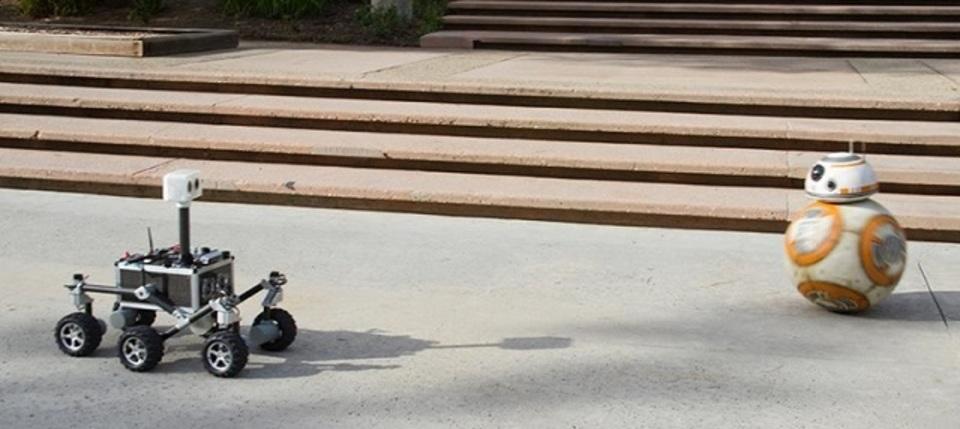 BB-8が、NASAのロボットと、出会った~