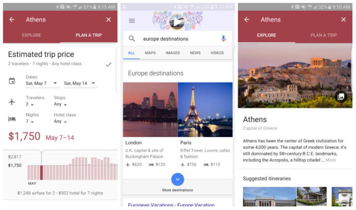 旅行計画に役立つグーグルの目的地検索「Destinations on Google」