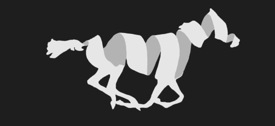 「馬が走る時、全ての足が宙に浮いている瞬間はあるのか」を解決した歴史的映像を現代アニメーションに