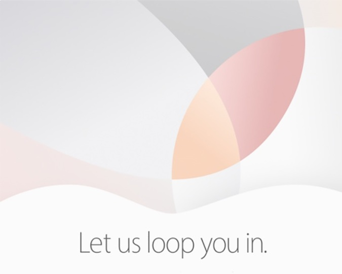 アップルが3月22日に新製品イベント開催へ! iPhone SEやiPad Proに期待!