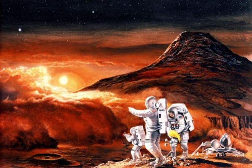 ちょいオデッセイ。火星を模した土でトマトやマメの収穫に成功