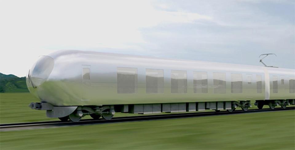 西武鉄道が2018年に投入する特急車両のイメージが斬新すぎると話題に