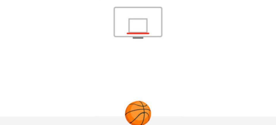 Facebookメッセンジャーに隠れバスケシュートゲームがあった