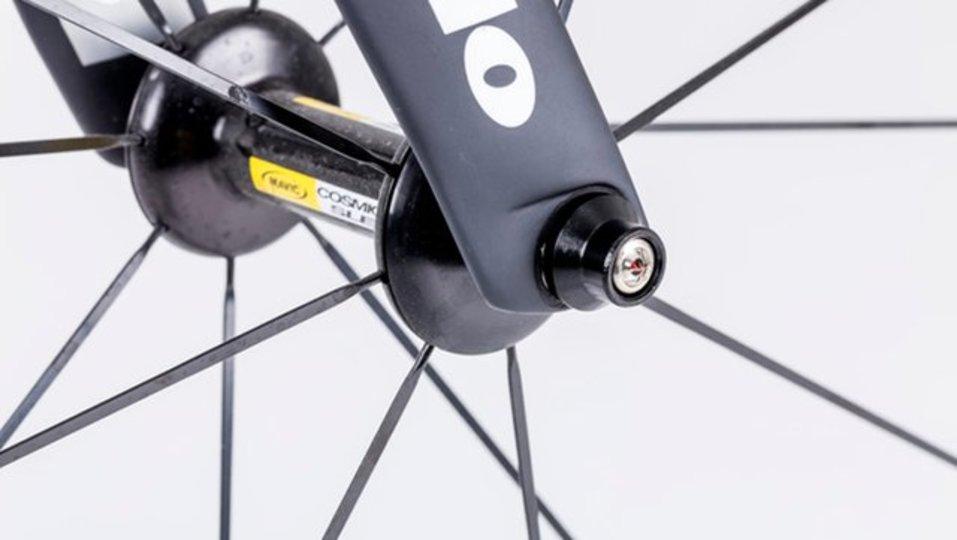 自転車泥棒を撃退する小さな磁石