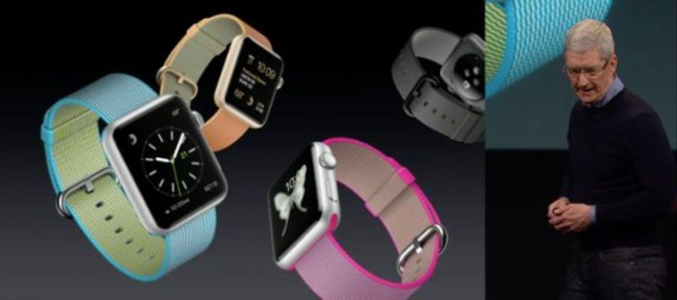 Apple Watchのバンドに新素材「ウーブンナイロン」&新色登場