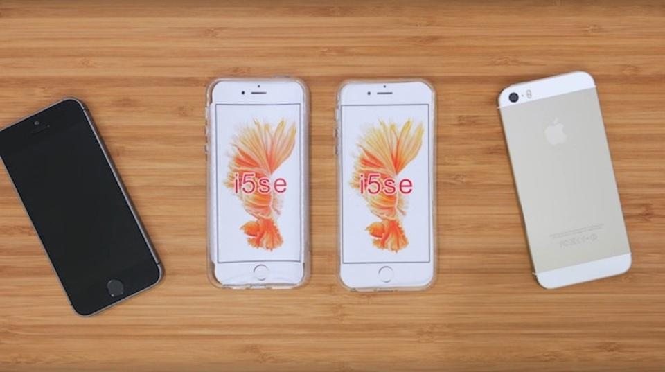 iPhone SEのケースレビューが登場? ほぼiPhone 5sと一緒、でもなにか違う…