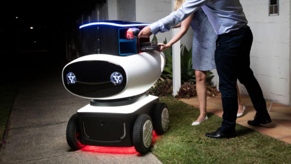 ドミノ・ピザ、でかした。ピザ配達ロボットが半年以内にオーストラリアで運用開始