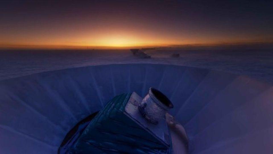 宇宙誕生直後の重力波を追う、南極のBICEP3が始動