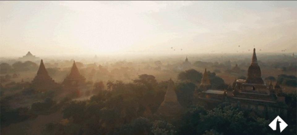 ドローンが撮影した動画が見せる最高に魅力的な世界各地